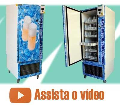 Congelador de Canecas para CHOPP